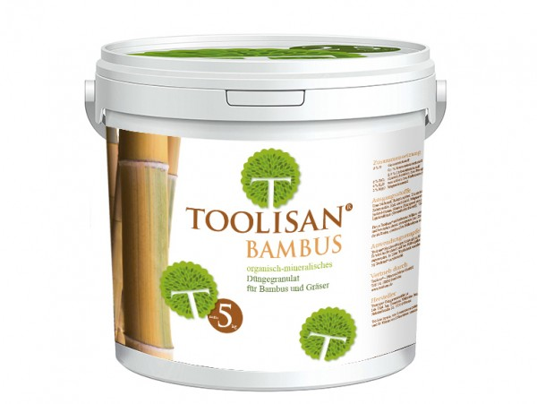 Bambusdünger Toolisan® 5kg