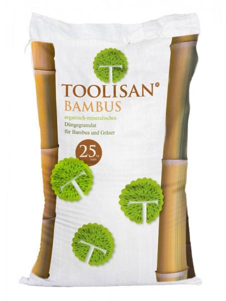 Bambusdünger Toolisan® 25 kg